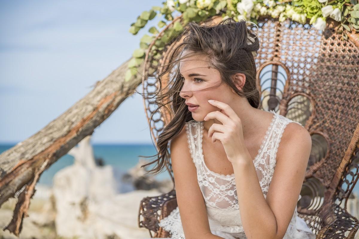 Mariage sur une plage de la Méditerranée