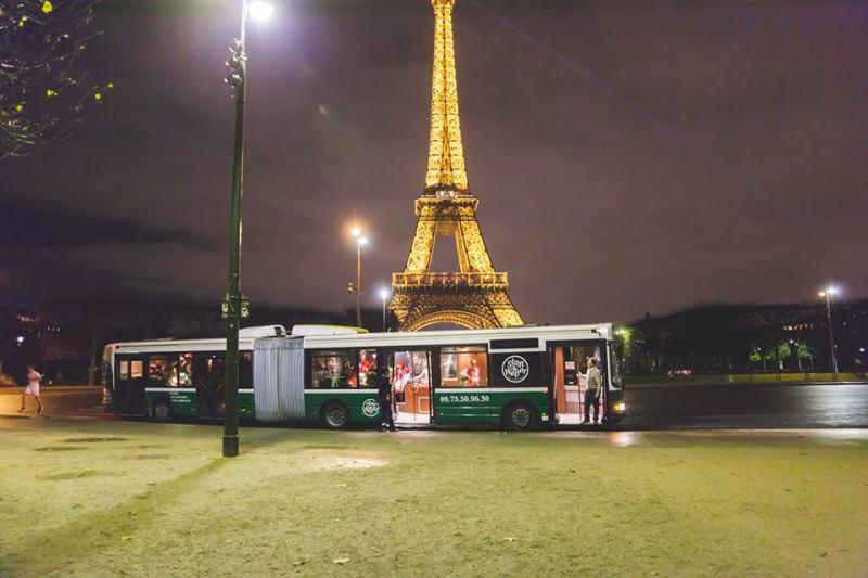 Idées pour un EVJF à Paris : le bus discothèque