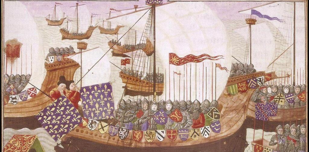 Naves de la guerra de los cien años