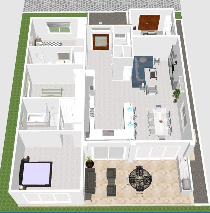3 Bedroom Design A 1720 Las Olas Ecuador