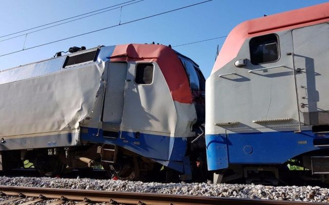 Dos trenes chocan en los Juegos Olímpicos de Invierno de Pyeongchang