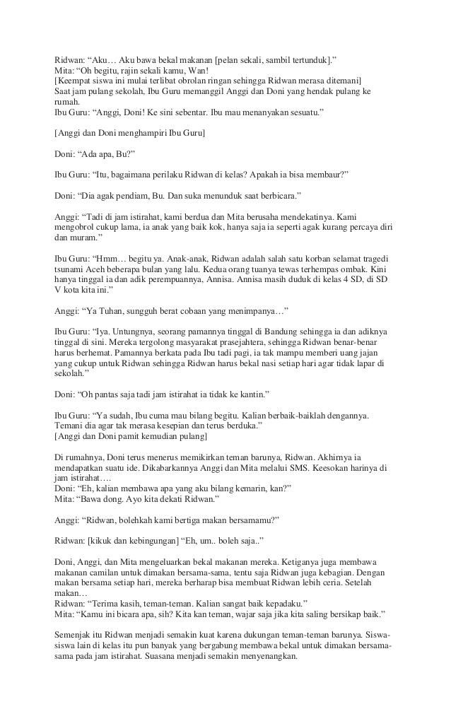 Naskah Drama 5 Orang : naskah, drama, orang, Dialog, Sunda, Orang, Lasopaatom