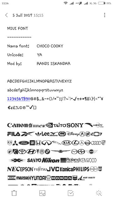 Kumpulan Font Mtz : kumpulan, Kumpulan, Unicode, Android, Lasopalt
