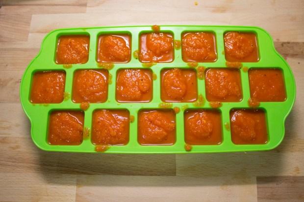 tomate casero en cubitera