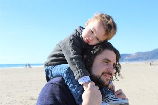 abrazo nani papa