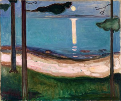 Edvard Much, Moonlight.