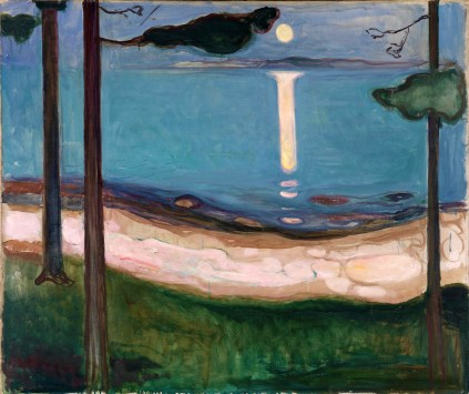 Edvard Much, Moonlight.