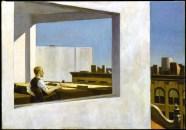 Edward Hopper, office in a small city.