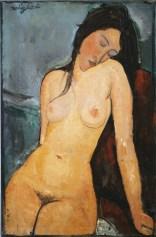 Amedeo Modigliani, donna nuda.
