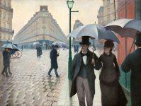 Gustave Caillebotte, strada di Parigi.