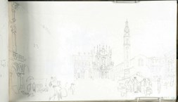 J. M. W. Turner, Piazza San Carlo, Torino