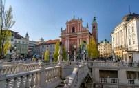 Église franciscaine et le Triple-Pont