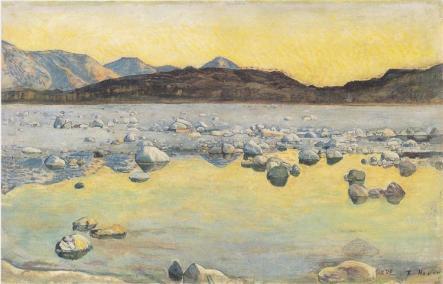 Ferdinand Hodler, Maggia Delta prima dell'alba.