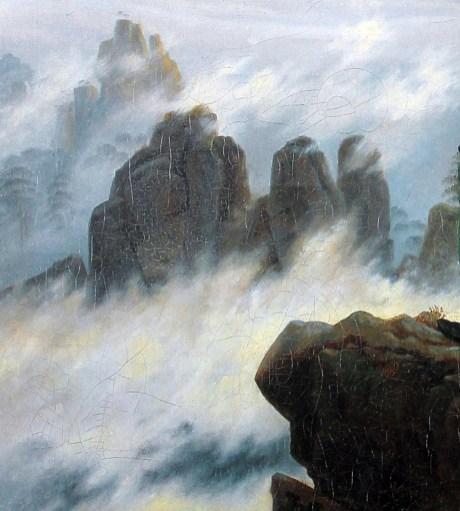 Perch il viandante sul mare di nebbia di Friedrich  considerato un inno al Romanticismo  La