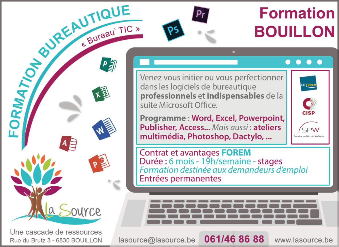 "Formation informatique ""Bureau' TIC"""