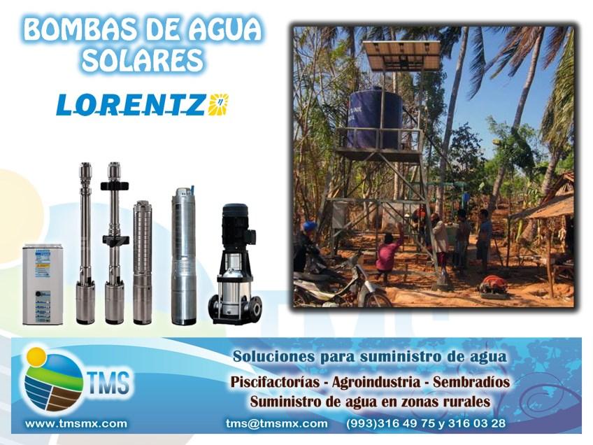 Soluciones para suministro de agua para zonas rurales, sembradios, agricultura, piscifactoria, etc