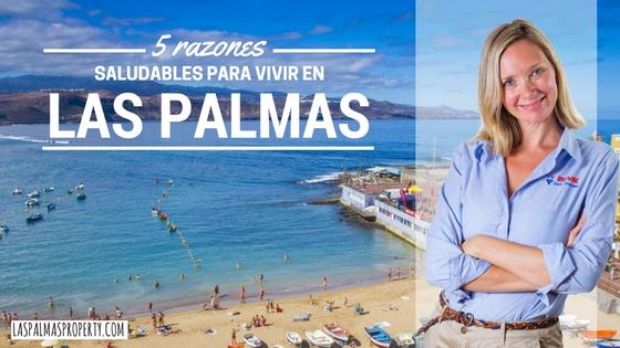 5 razones saludables para vivir en Las Palmas de Gran Canaria