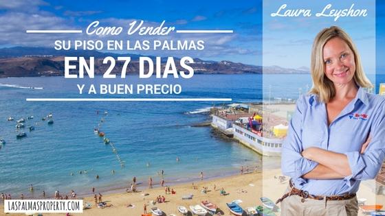 Como vender un piso en Las Palmas en tan solo 27 días (ya buen precio)