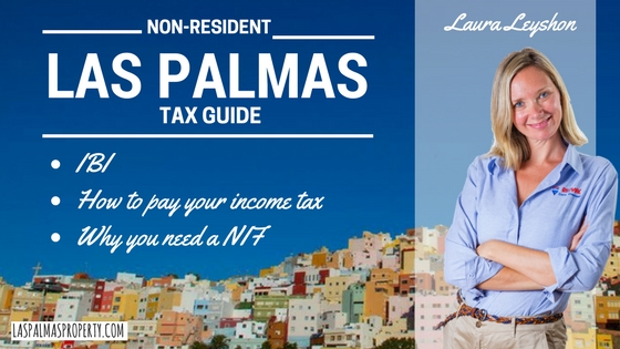 Non-resident property taxes in Las Palmas de Gran Canaria and how to pay them