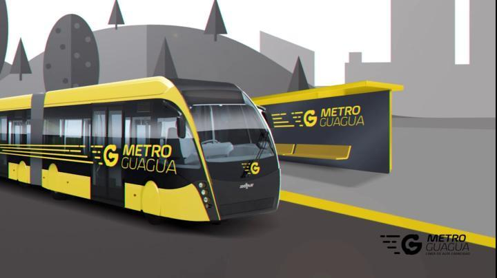 The Las Palmas MetroGuagua will be running by 2021