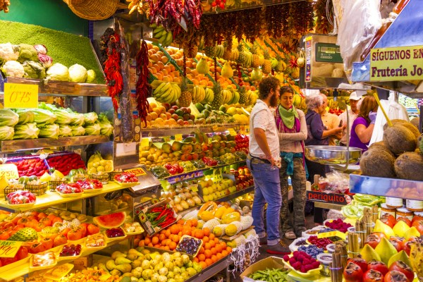 Where to go food shopping in Las Palmas de Gran Canaria