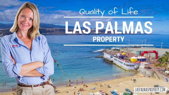 Las Palmas de Gran Canaria city offers world-leading Quality of Life