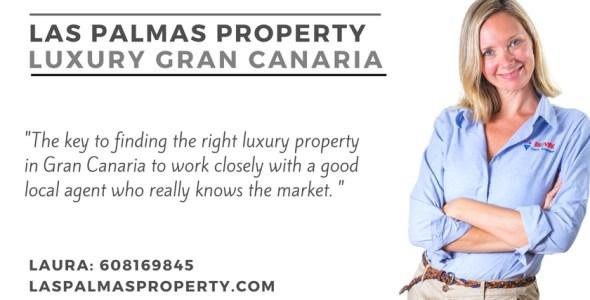 Gran Canaria luxury estate agent Laura Leyshon