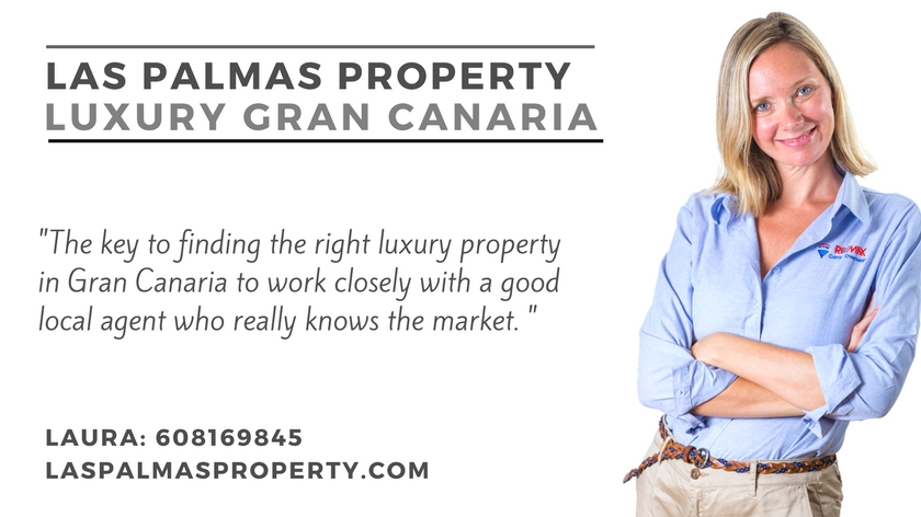 High-end Gran Canaria property information from estate agent Laura Leyshon