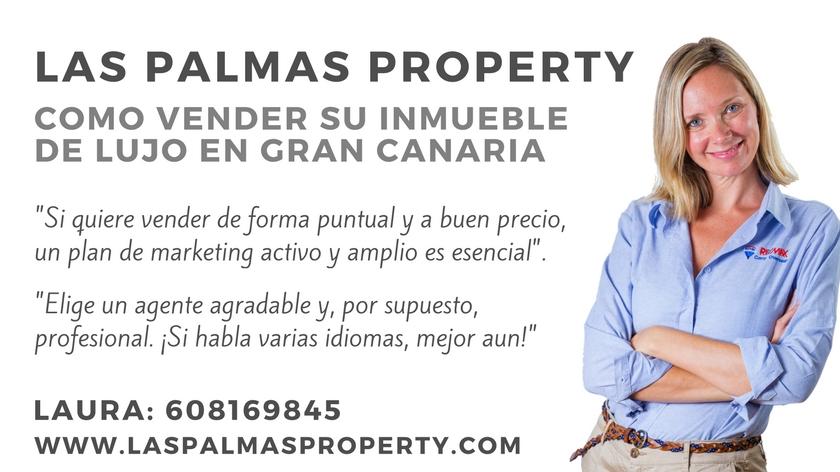 Como vender un inmueble de lujo en Gran Canaria