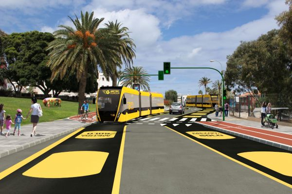 Will the MetroGuagua BRT system affect Las Palmas de Gran Canaria property prices?