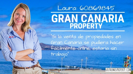 Si la venta de propiedades en Gran Canaria se pudiera hacer facilmente online, estaría sin trabajo