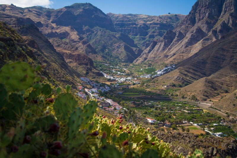 The Agaete Valley in Gran Canaria has everyuthing from beaches to landscapes