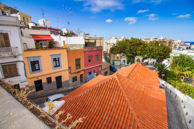 San Nicolas barrio in Las Palmas de Gran Canaria