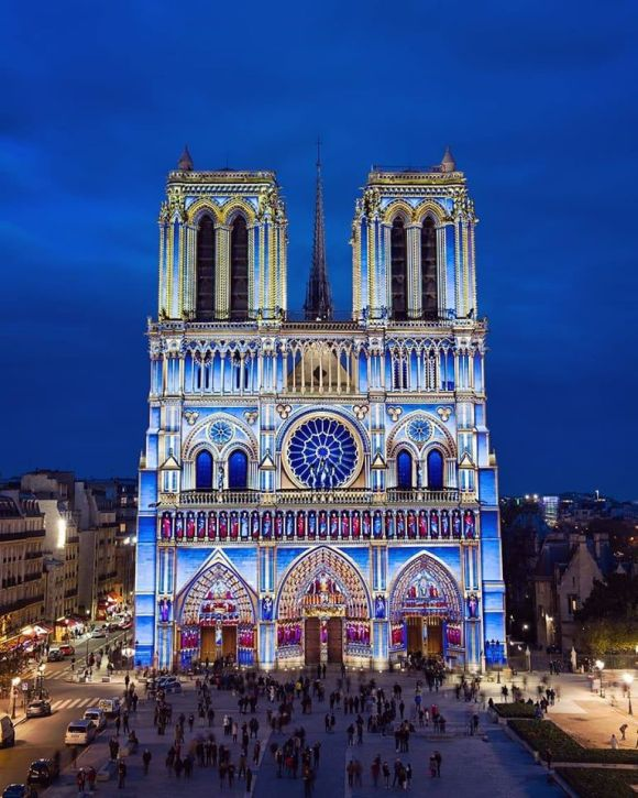 catedral de notre dame arquitectura gotica