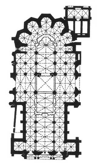 Planta Catedral de León en España