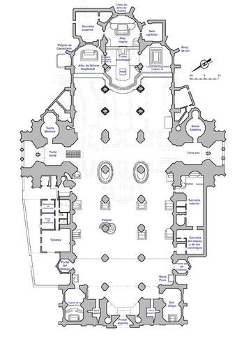Planta catedral de San Esteban Viena
