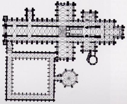Catedral de Salisbury planos