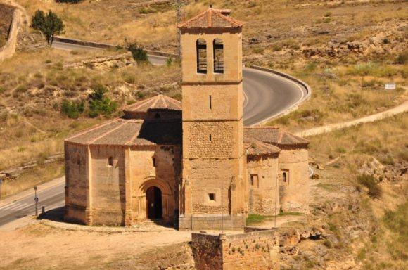 Arquitectura Romanica: Iglesia de la Vera Cruz, Segovia
