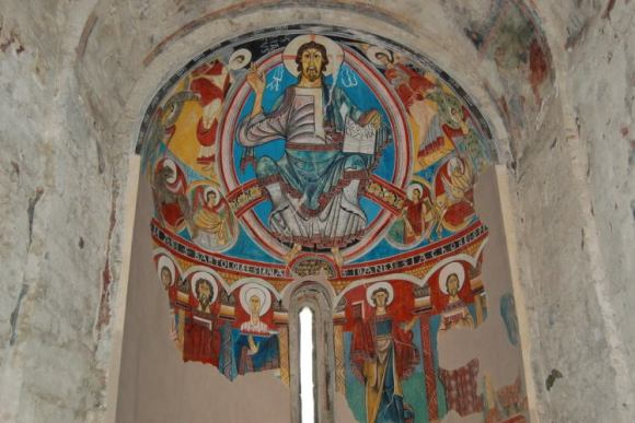 Decoración iglesia romanica