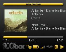 Screenshot of Rockbox theme for SanDisk Sansa Fuze