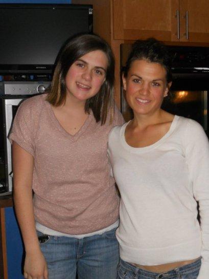 Savannah and Haley