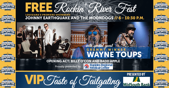 Friday night of Induction Weekend features music, fireworks and VIP perks on Cane River