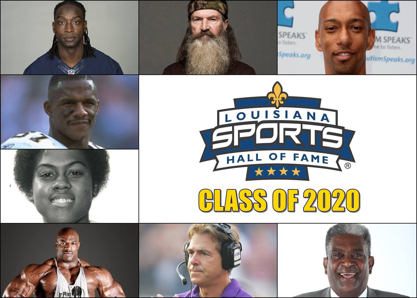 Louisiana Sports Hall of Fame announces 2020 induction class