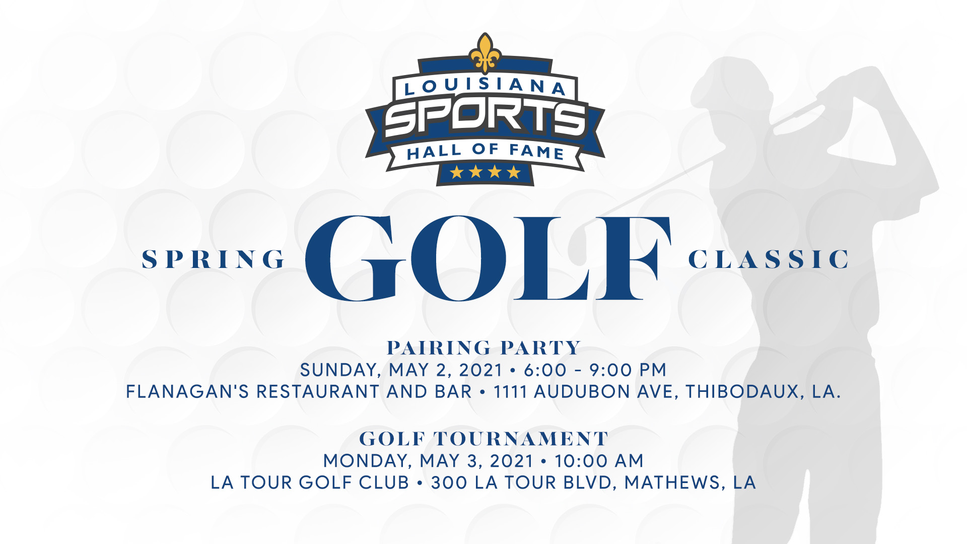 LSHOF Golf Classic presented by Relief Windows