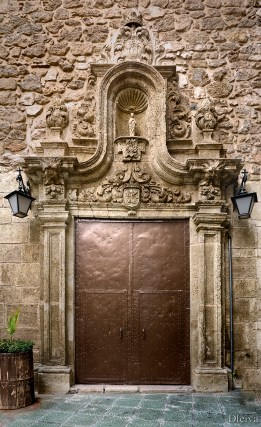 Portada de la iglesia de las Puras. Foto Dleiva