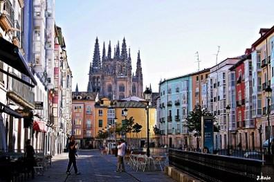 Calles de Burgos.