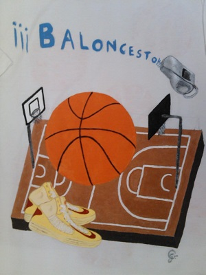 Camiseta Basket