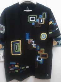 Camiseta rectangulos colores