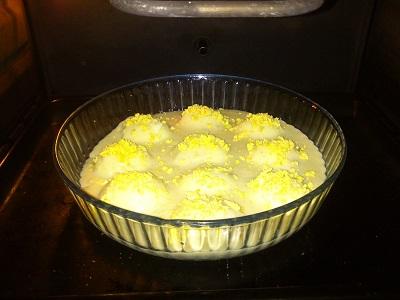 Huevos rellenos y gratinados