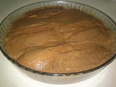 Castañas al chocolate